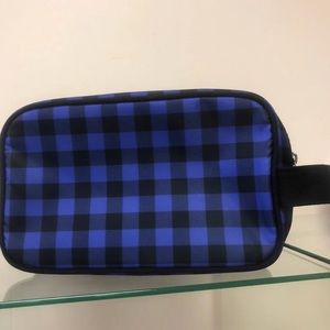 Toiletry Case or Cosmetic Bag Blue